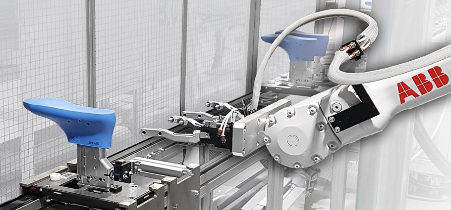 Robot di presa e posizionamento della forma