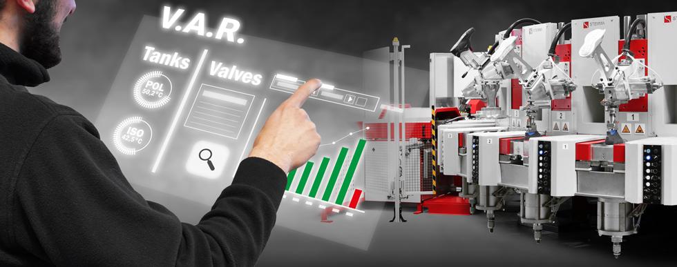 L'impianto user-friendly di stampaggio del poliuretano