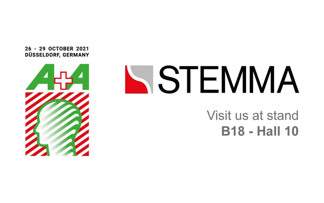 STEMMA alla Fiera A+A di Dusseldorf 2021 – Stand B18 Hall 10